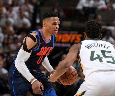 Russell Westbrook Fined For Game 4 Altercation With Rudy Gobert, Won't Be Suspended