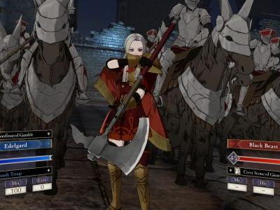 Fire Emblem: Three Houses Shows Archbishop of the Church of Seiros, Rea