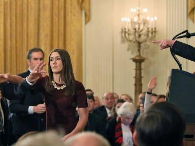 White House appears to share Jim Acosta mic grab video doctored by far-right Infowars
