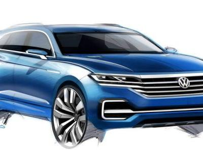 VW Tipped To Reveal New Touareg At April's Beijing Show