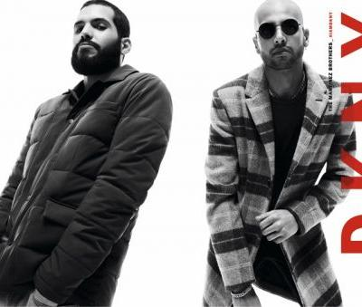The Martinez Brothers Front DKNY Fall '19 Campaign