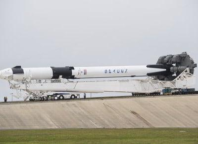 SpaceX teams with NASA on its first crewed spacecraft trip to the ISS