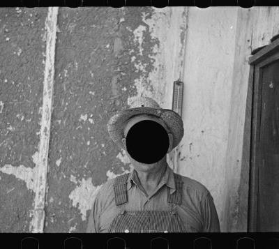 Hole Punched Voids Transform Rejected Photographs From the Great Depression