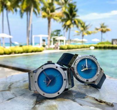 Hublot and Cheval Blanc Randheli Unveil Collaborative Collection