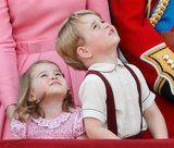 The Best Pictures of Prince George and Princess Charlotte We've Been Blessed With This Year