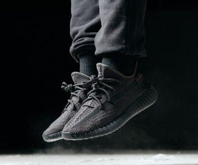 An On-Foot Look at theAll-Black adidas YEEZY BOOST 350 V2