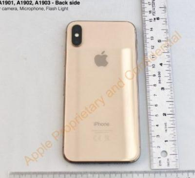 The gold iPhone X just got exposed