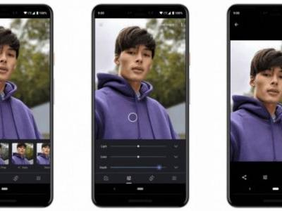 Google Photos for iOS gets portrait depth editing and color pop