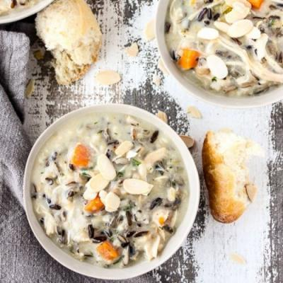 Instant Pot Chicken Wild Rice Soup