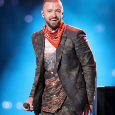 Justin Timberlake Sports Stella McCartney for Super Bowl Halftime Show