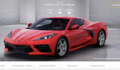 Let's Configure Your 2020 C8 Corvette Stingray