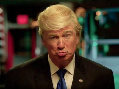 Alec Baldwin Tells Donald Trump He Has Won An Emmy In Best Supporting Comedy Actor Speech