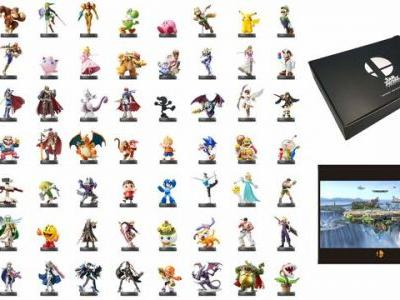 Amazon Japan selling special Super Smash Bros. Ultimate amiibo bundle with 63 amiibo figures