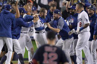The Latest: Dodgers go back to Rich Hill as Game 4 starter