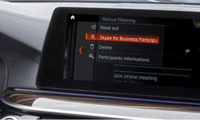 BMW to include Skype for Business in-car via iDrive