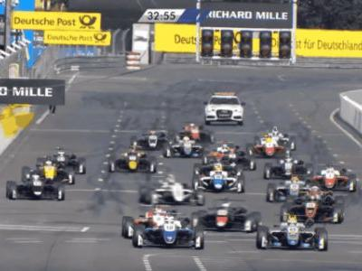 Massive Formula 3 Crash Shows That Even Racers Drive Toward What They're Looking At