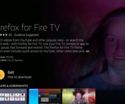 Firefox is now available on Amazon's Fire TV, and it can access YouTube