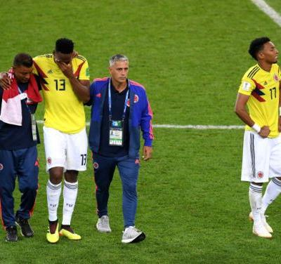 England has finally won a penalty shootout at the World Cup, eliminating Colombia