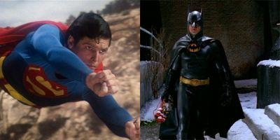 The Christopher Reeve Superman And Michael Keaton Batman Costumes Are Being Auctioned