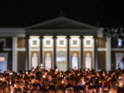 UVA Candle-Lit Vigil Takes Peaceful Stand Against White Nationalism