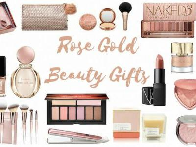 Best Rose Gold Beauty Gifts!
