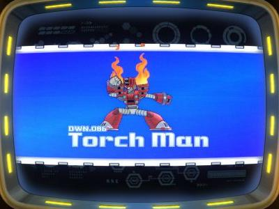Torch Man announced for Mega Man 11, not to be confused with the boss from the DOS game