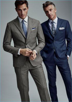 The New Rules of Office Dressing: J.Hilburn Enlists Top Models for Sleek Fall '17 Outing