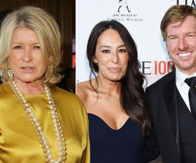 Martha Stewart had no clue who Chip and Joanna Gaines are