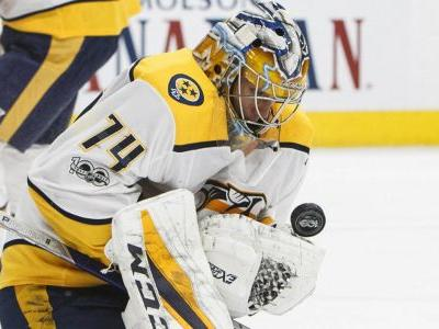 Juuse Saros stops 46 shots as Predators shut out Oilers