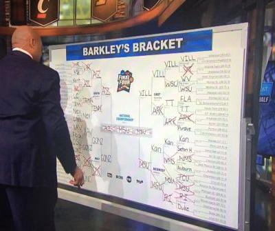 Feel bad about your bracket? Take a look at Charles Barkley's