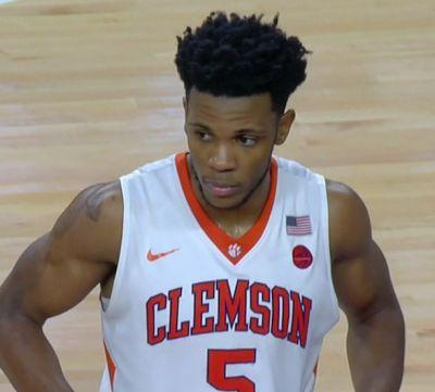 Clemson's Blossomgame drafted by Spurs in 2nd round of NBA Draft