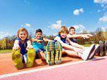 Children's exercise plunges 40% between ages 5 and 12