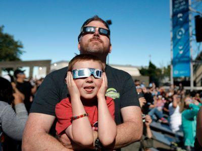 Eclipse-chasers came out in droves to watch the solar eclipse across the US - take a look