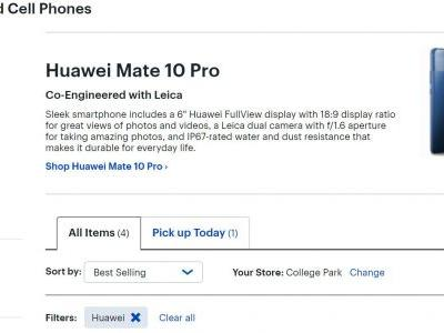 Huawei/Best Buy Partnership Seemingly Ending, Restocking Stops