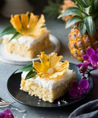 Pineapple Cake {From Scratch}