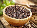 BLACK PEPPER can reduce obesity, study finds