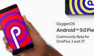 OnePlus 3 and 3T get Android Pie with a Community Beta update