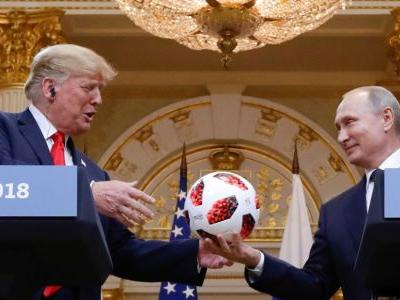 The soccer ball Putin gave to Trump is undergoing a security check