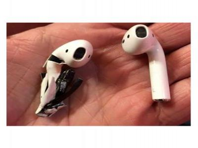 Apple investigating claim that AirPods started smoking & burst open