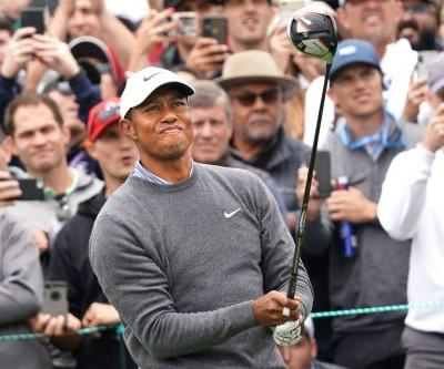 Tiger Woods struggles out of the gate as US Open hopes fade