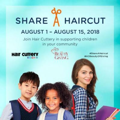 Back to school- Share a Haircut