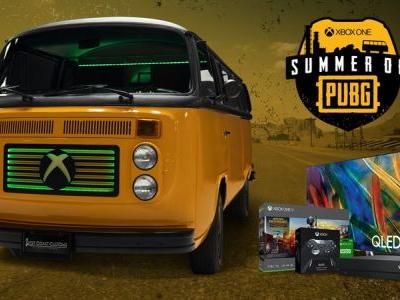 Win a PlayerUnknown's Battlegrounds bus with the 'Summer of PUBG'