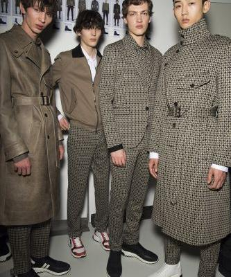 Neil Barrett Shows His Men's And Women's AW18 Collections In Milan