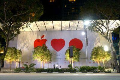Singapore's First Apple Store Opens May 27