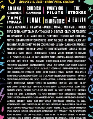 Lollapalooza 2019 lineup: The Strokes, Ariana Grande, Childish Gambino, Tame Impala to headline