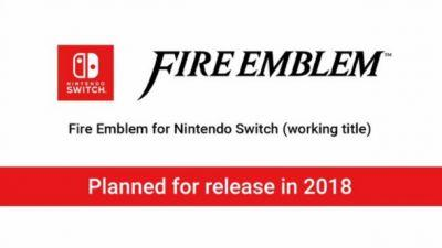 New Fire Emblem Game In The Works For Nintendo Switch