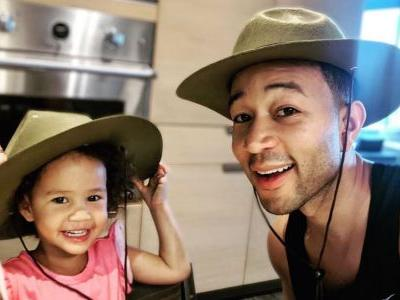 John Legend and Luna Dance to Mariah Carey and It's the Purest Thing You'll Ever See