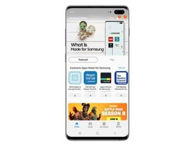 Samsung launches new Galaxy Store