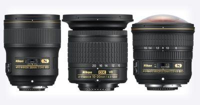 Nikon Unveils 3 New Lenses: A 28mm f/1.4, 10-20mm, and 8-15mm