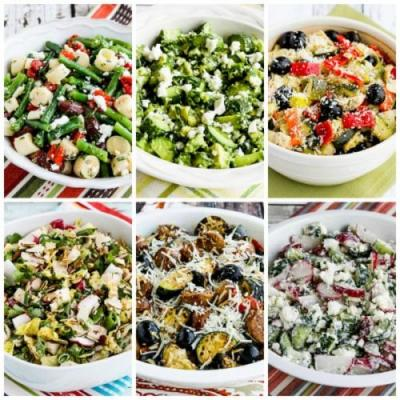 20 Favorite Low-Carb Salads for Summer